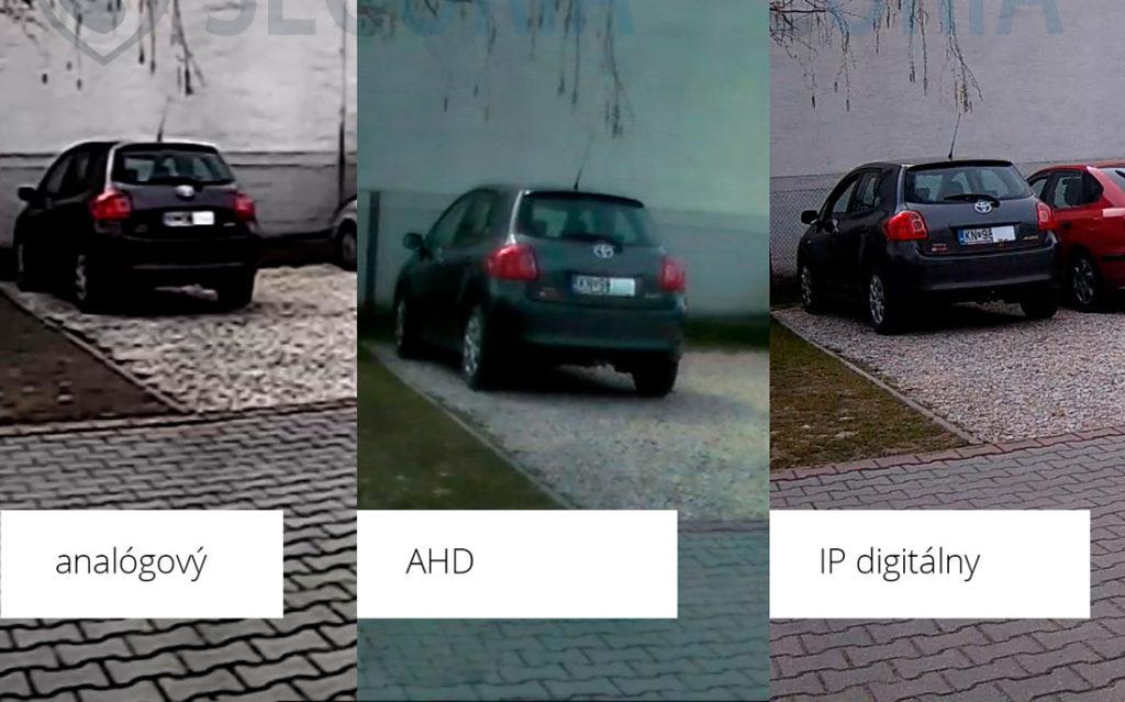 Porovnání kamerových systému