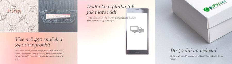 Výhody eshopu e-obuv.cz
