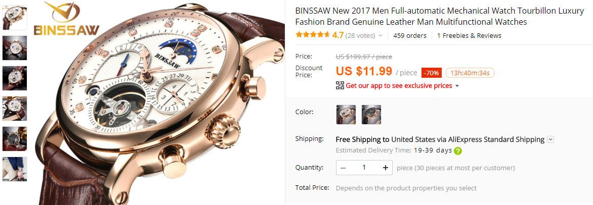 levné náramkové hodinky