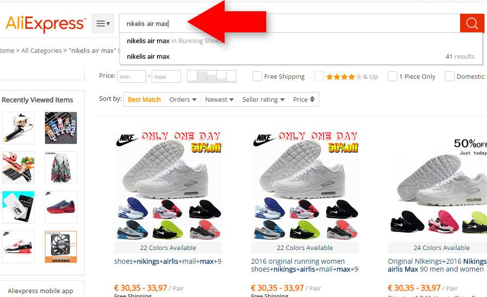 Fake Nike air max