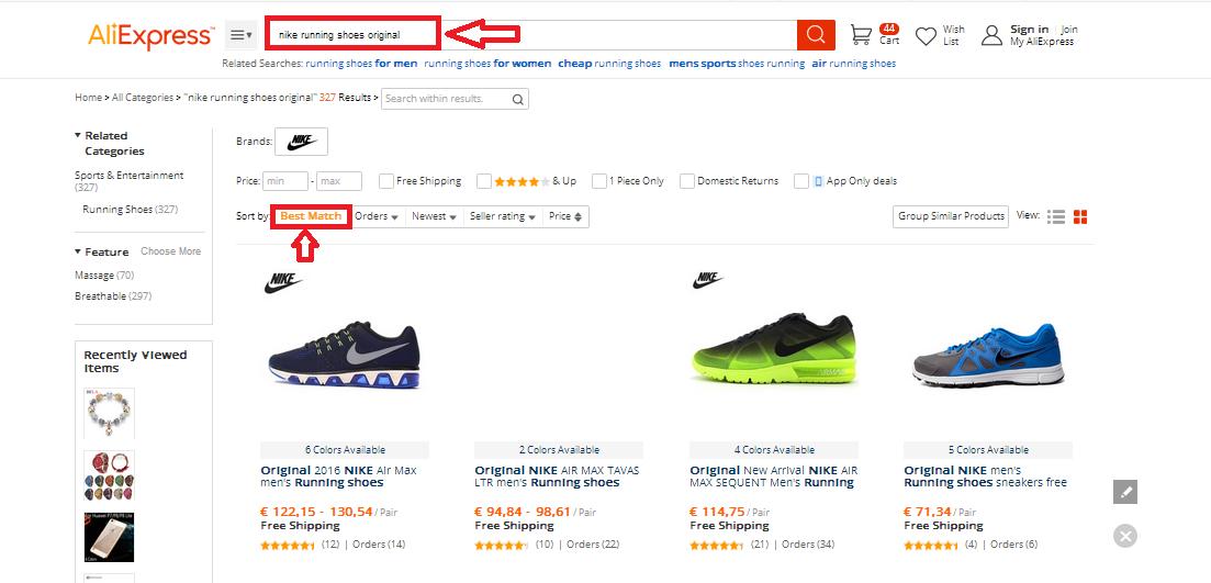 Keress Az On Eredeti Nike Hogyan Márkás Sportcipőket vnwmN80O