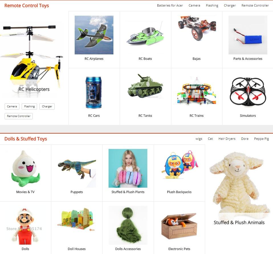 Jucării din aliexpress