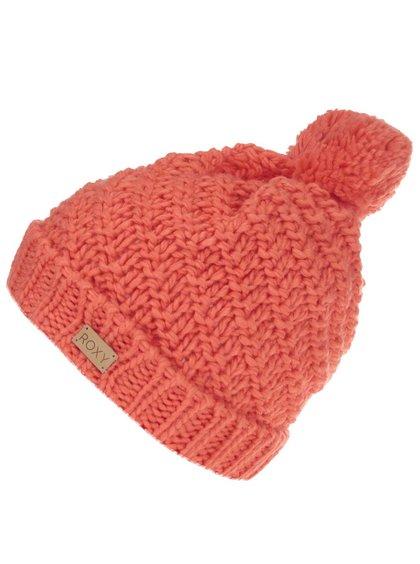oranžová zimná čiapka roxy blizzard