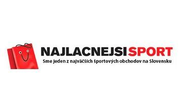Zľavové kupóny Najlacnejsisport.sk