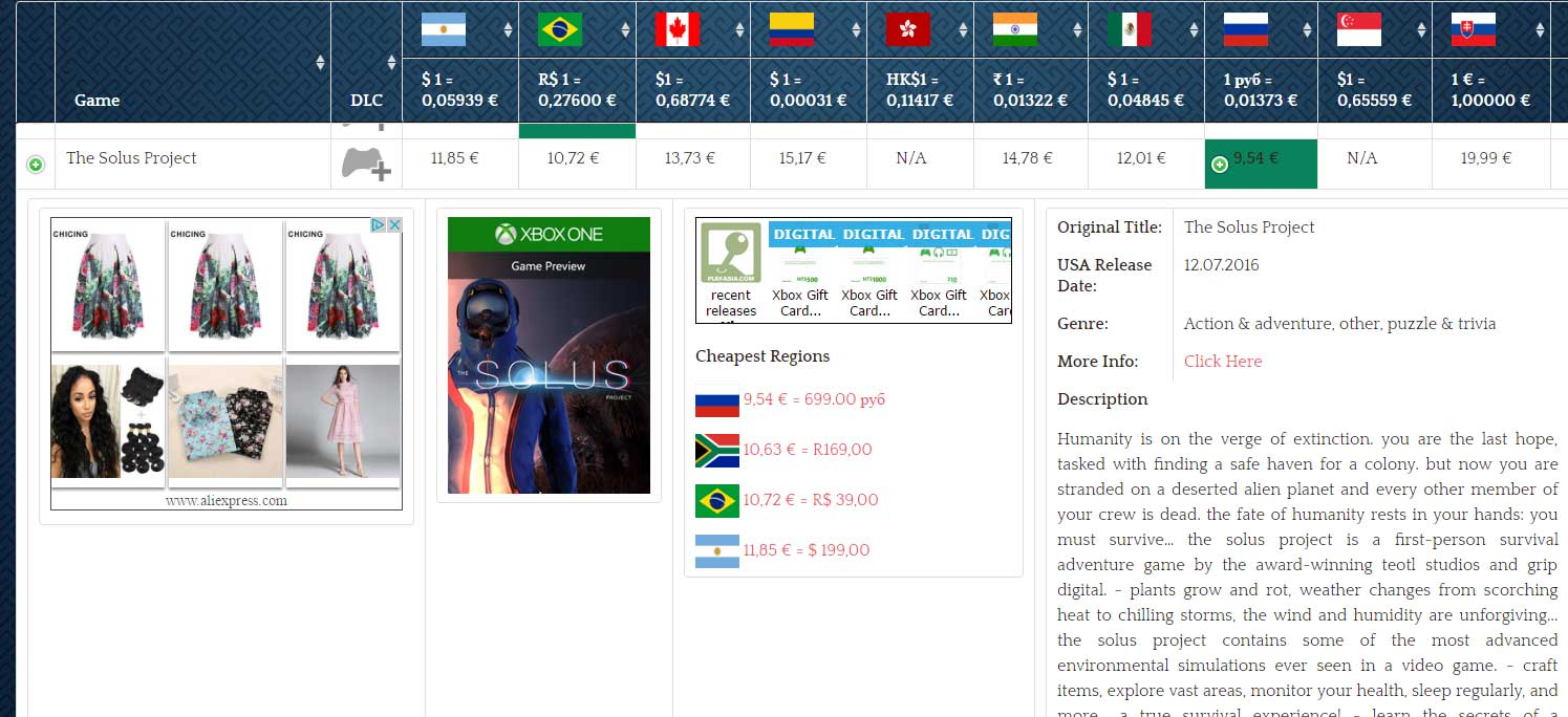 Rusky Xbox one store