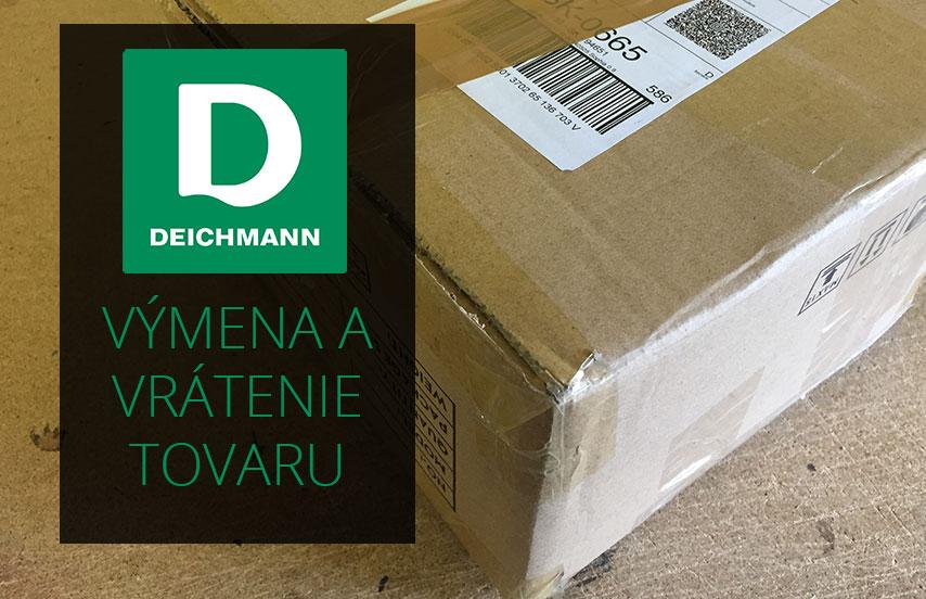 de87bf70071b Ako vymeniť alebo vrátiť tovar na Deichmann.sk