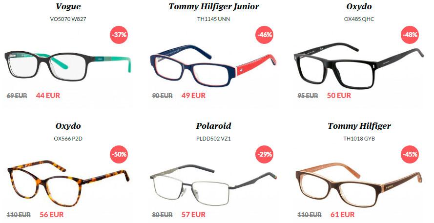 Zľavnené okuliare