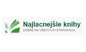 Zľavové kupóny Najlacnejsie-knihy.sk