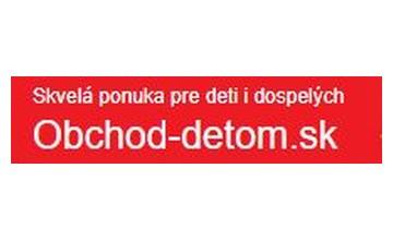 Zľavové kupóny Obchod-detom.sk