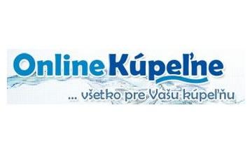Zľavové kupóny Onlinekupelne.sk