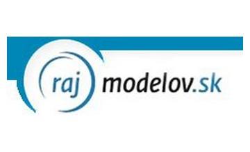 Zľavové kupóny Rajmodelov.sk
