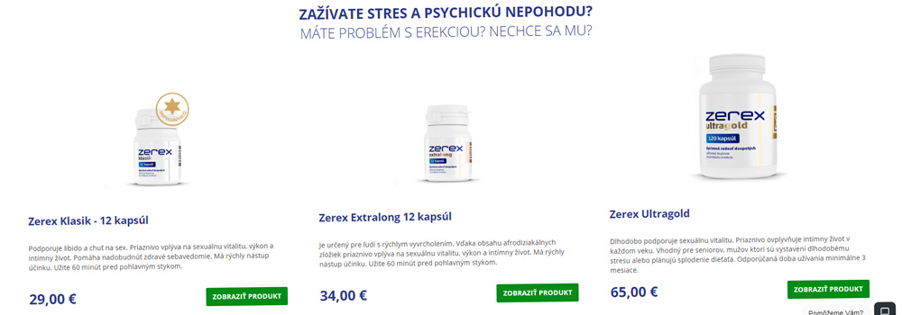 zerex produkty